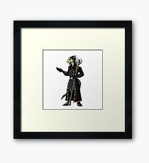 Skyrim Thalmor Argonian Framed Print