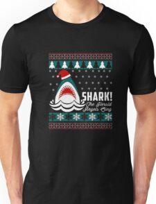 SHARK! THE ANGEL SING T-Shirt merry funny christmas Unisex T-Shirt