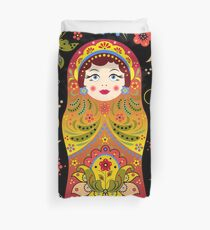 russian doll matryoshka Duvet Cover