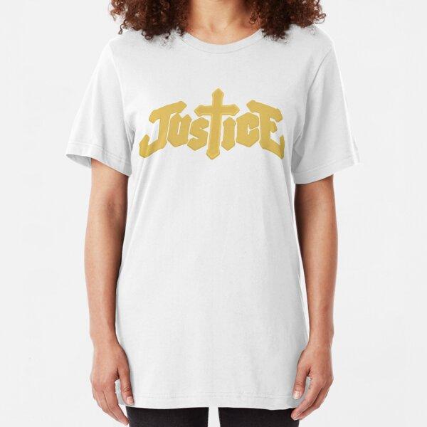 Justice - Logo Slim Fit T-Shirt