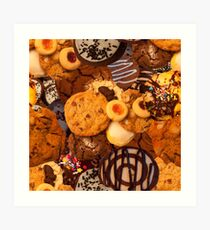 Cookie SweetTooth Art Print