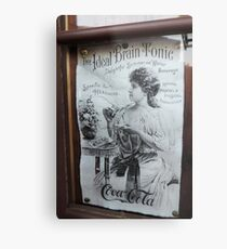 """The Ideal Brain Tonic"" - Vintage Coca-Cola Advertisement Metal Print"