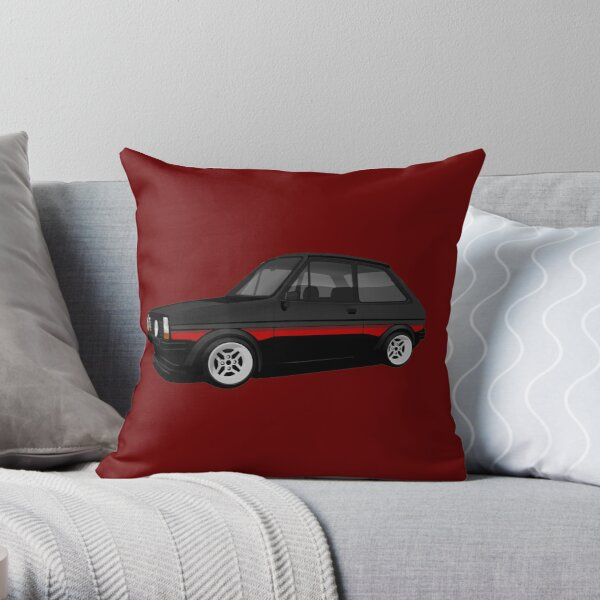 Fiesta Supersport (black) Throw Pillow
