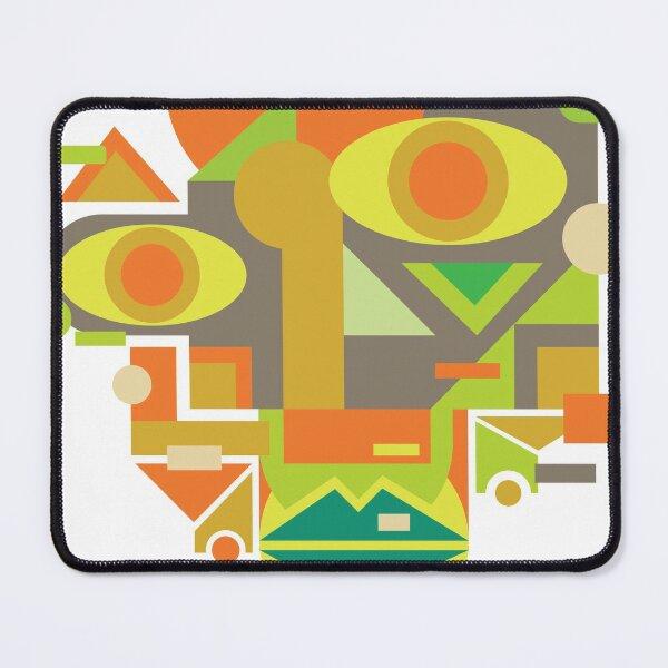 Face Cubism 4 Mouse Pad
