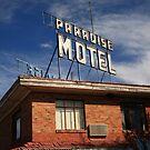 Route 66 - Paradise Motel by Frank Romeo