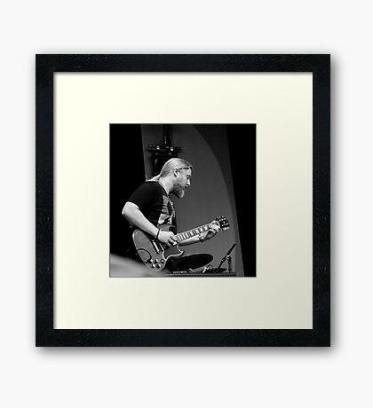 Derek Trucks of the Tedeschi Trucks Band Framed Print