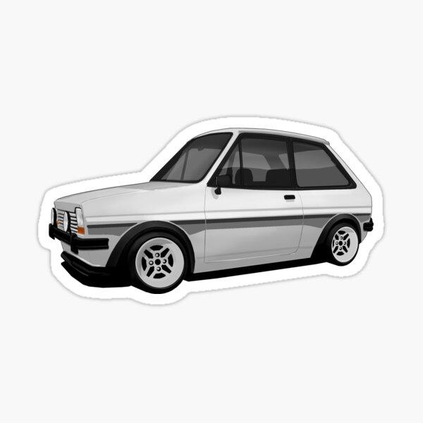 Mk1 Fiesta Supersport (Silver) Sticker