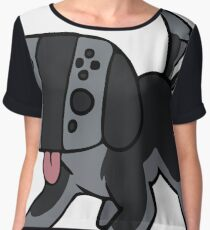 Nintendo Switch Controller Dog Chiffon Top
