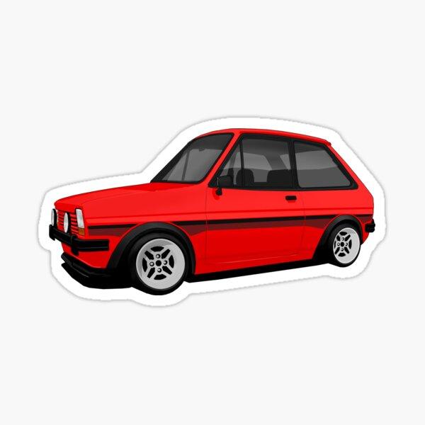 Mk1 Fiesta Supersport (Red) Sticker