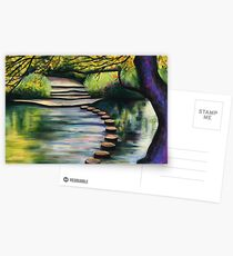 Stepping Stones, Box Hill Postcards