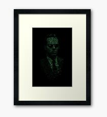 Agent Smith Framed Print