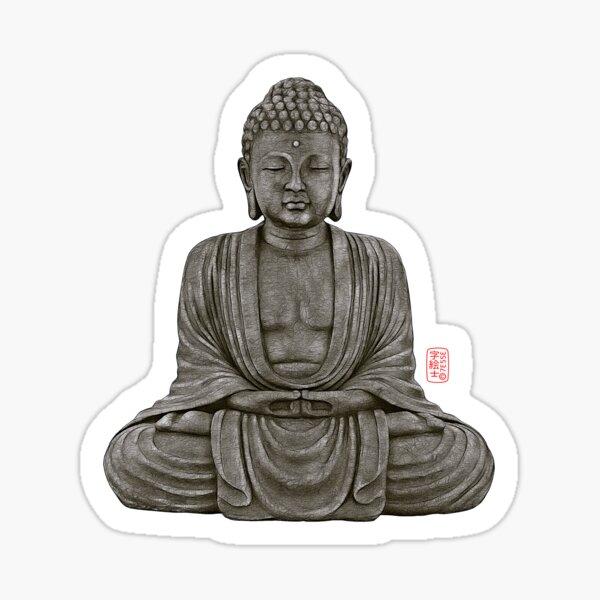 Buddha lines  Sticker
