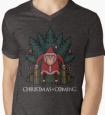 Santa Of Thrones - Christmas Is Coming T-Shirt