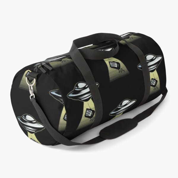 Waiting For Abduction  Duffle Bag