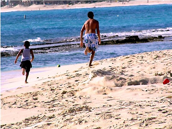 Kids On The Beach by tvlgoddess