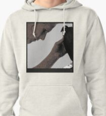 tablet on the beach Pullover Hoodie