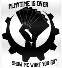Playtime is over Poster