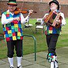 Strutting Their Stuff - Fiddler and Accordion Player von BlueMoonRose