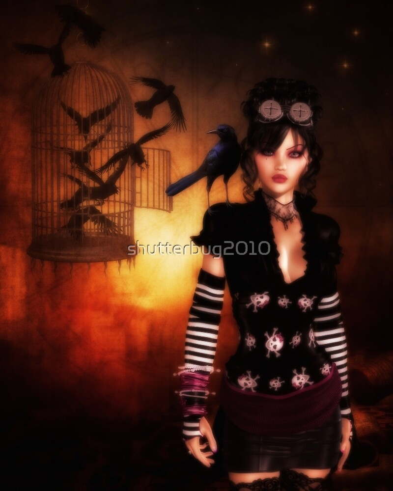 Trickster and Her Minions by shutterbug2010