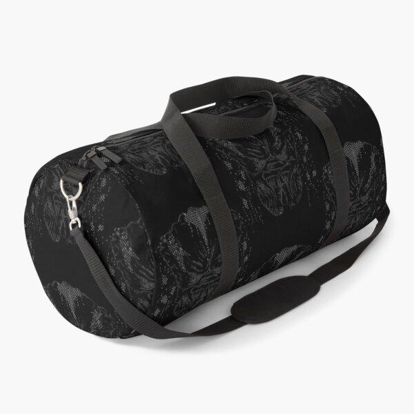 polka dot pop art predator  Duffle Bag