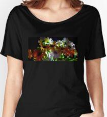 Backlit Flower Bouquet  Women's Relaxed Fit T-Shirt
