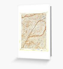 USGS TOPO Map California CA Big Trees 299222 1901 125000 geo Greeting Card
