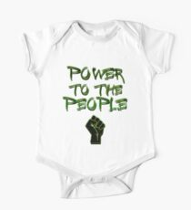 Power to the People! Activist , Protest, Protester,  One Piece - Short Sleeve