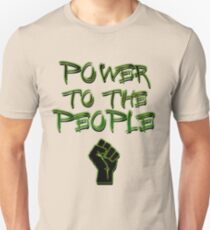 Power to the People! Activist , Protest, Protester,  Unisex T-Shirt