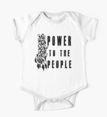 .Power to the People! Activist Protester One Piece - Short Sleeve
