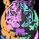 TIGER MULTICOLOR by fuxart