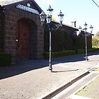 The Street Lights - the Old Kilmore Gaol - VIC - Australia by Margaret Morgan (Watkins)