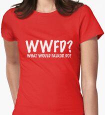 Charlie Bradbury What Would Falkor Do? Shirt Women's Fitted T-Shirt