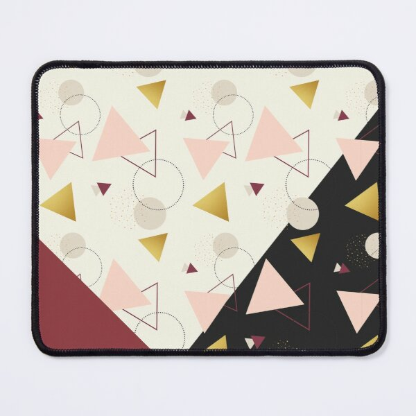 Triangles Mix Mouse Pad