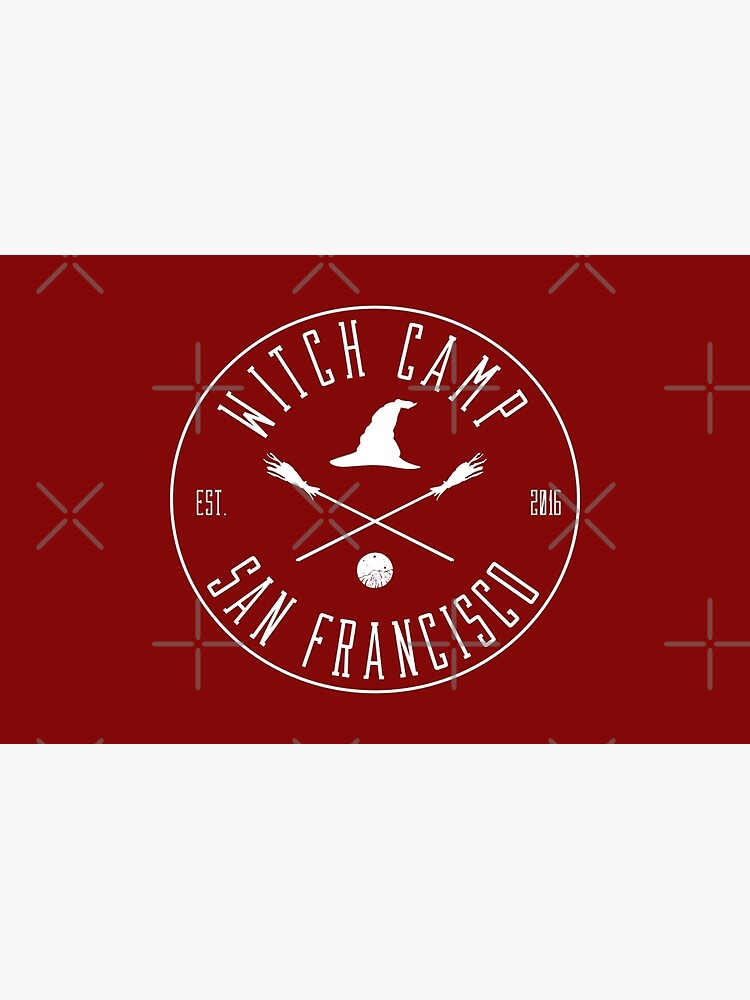 Witch Camp San Francisco (white) by siyi