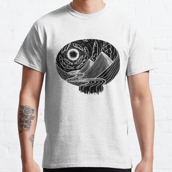 Landscape in an inverse flow state Classic T-Shirt