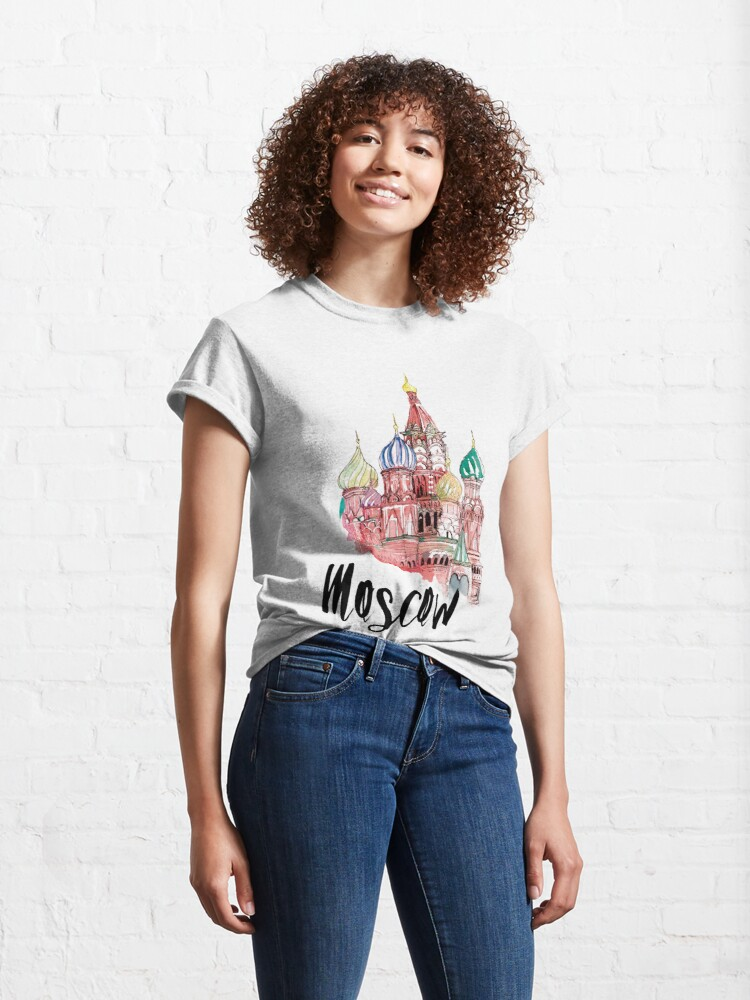 Alternate view of Moscow Classic T-Shirt