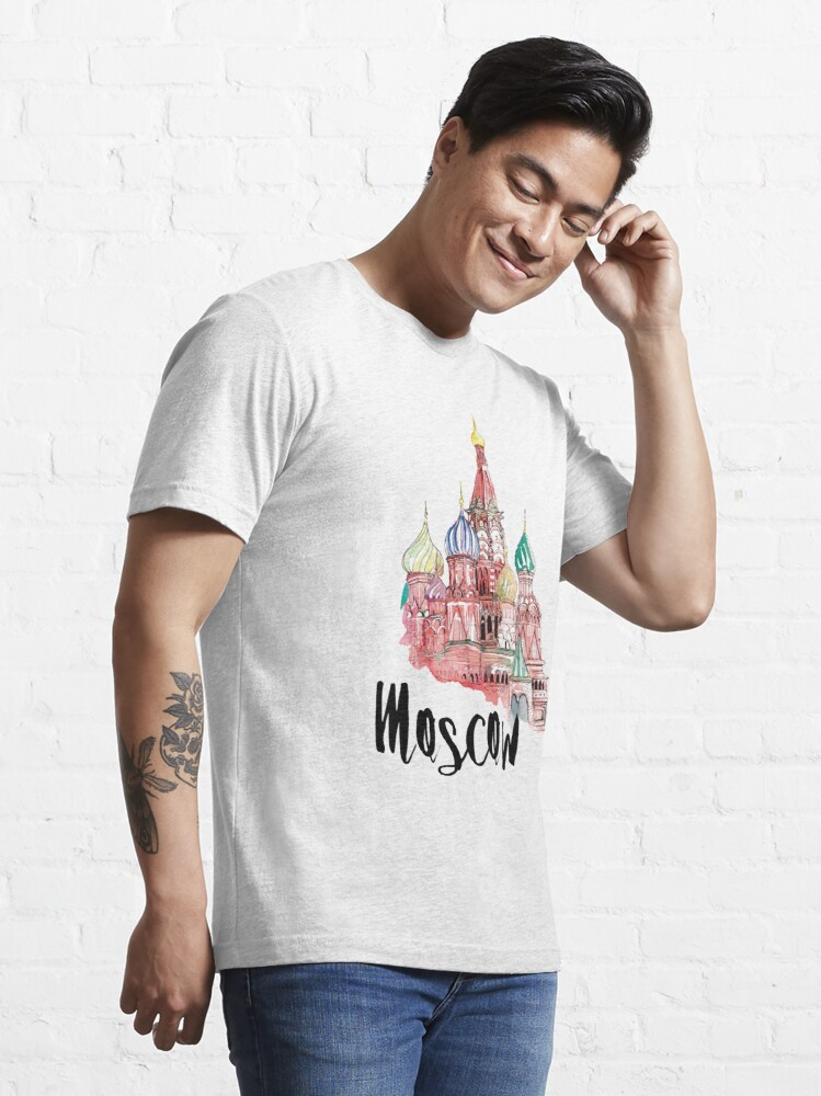 Alternate view of Moscow Essential T-Shirt