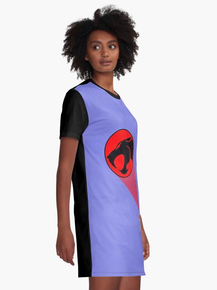Alternate view of Thunder Cats Graphic T-Shirt Dress
