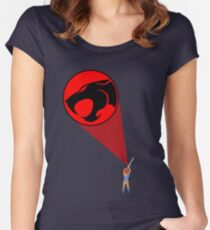 Thunder Cats Women's Fitted Scoop T-Shirt