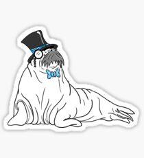 Radiant Walrus Sticker