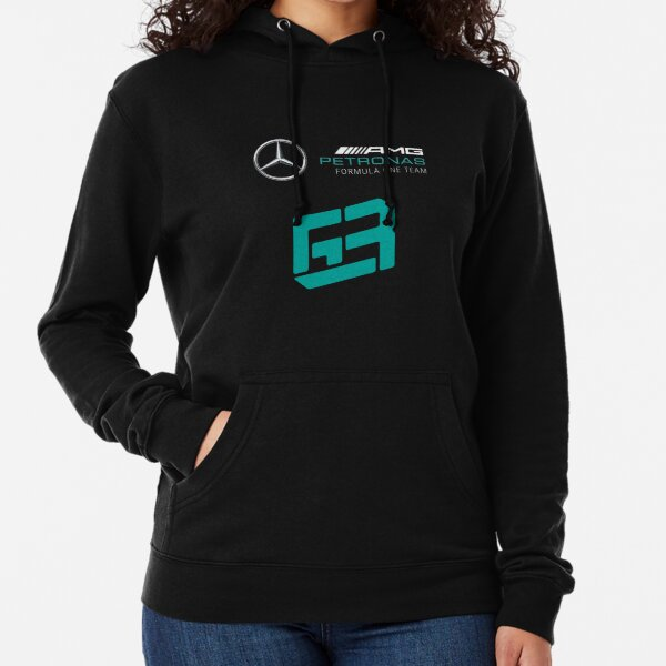 George Russell Mercedes F1 Leichter Hoodie