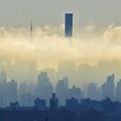Clouds over New York City  by Alberto  DeJesus