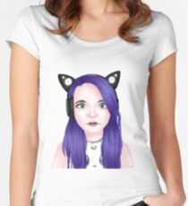 Semi-Realistic Lizzie aka LDShadowLady Women's Fitted Scoop T-Shirt