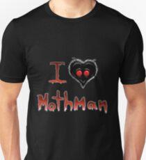 I (heart) Mothman Unisex T-Shirt