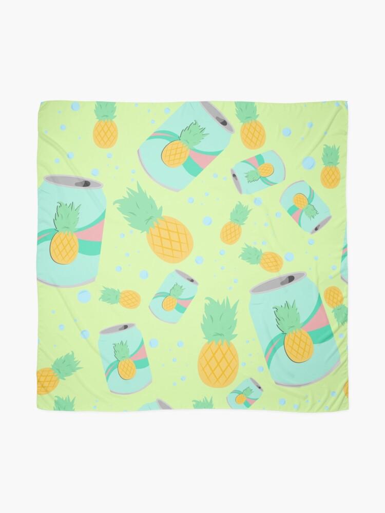 Alternate view of Pineapple Soda - pattern Scarf