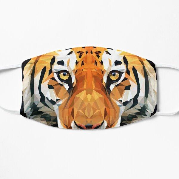 Tiger Low Poly Flat Mask