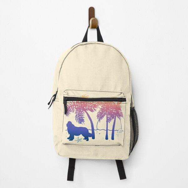 Newfoundland Ombre Beach Sunrise Backpack