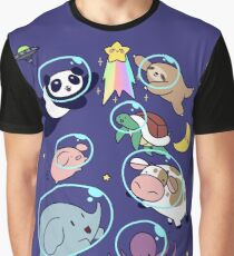 Space Animals! Graphic T-Shirt