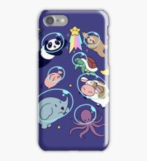 Space Animals! iPhone Case/Skin