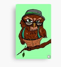 Wise Before It Was Cool Canvas Print
